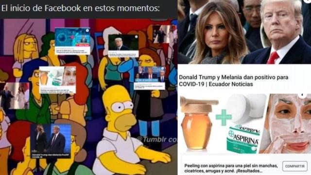Facebook está lleno de remedios caseros y Trump y tenemos los mejores memes