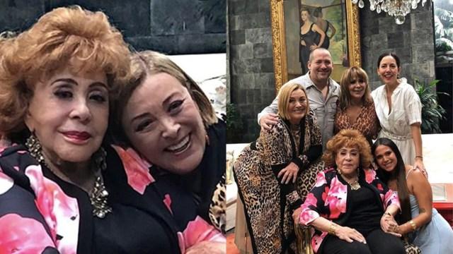 Sylvia Pasquel revela la herencia que le tocó del testamento de Silvia Pinal