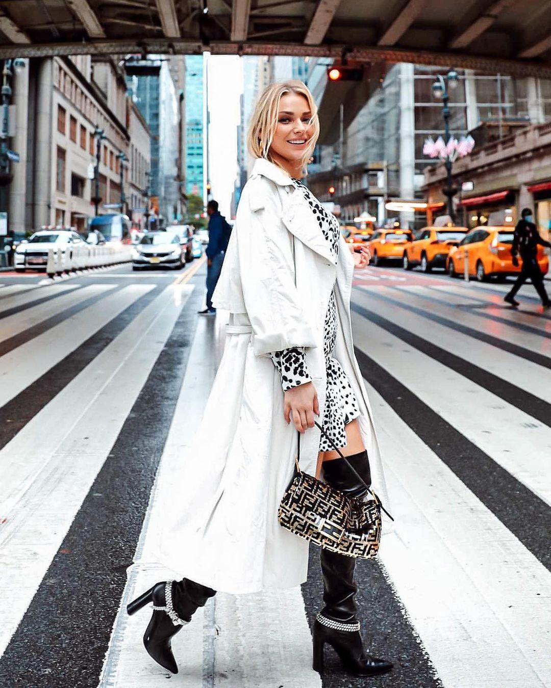 Irina Baeva en Nueva York
