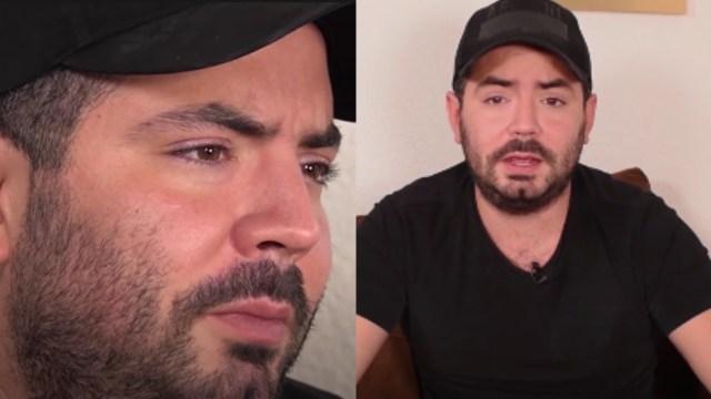 José Eduardo Derbez triste