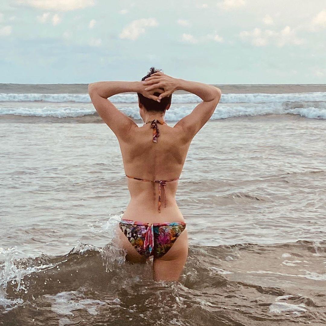 Lourdes Munguia bikini