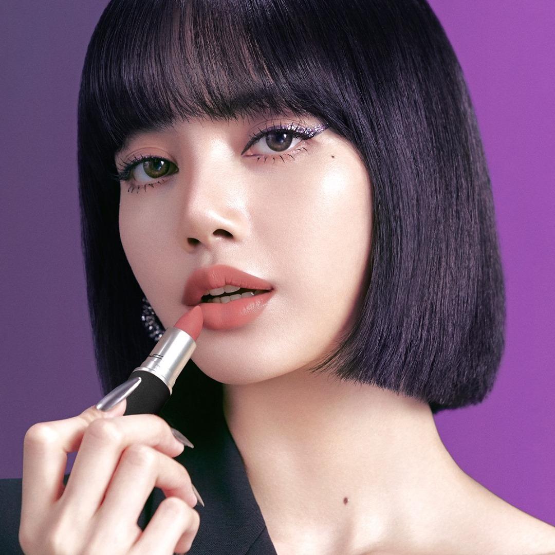 Lisa de BLACKPINK nueva embajadora de Mac Cosmetics
