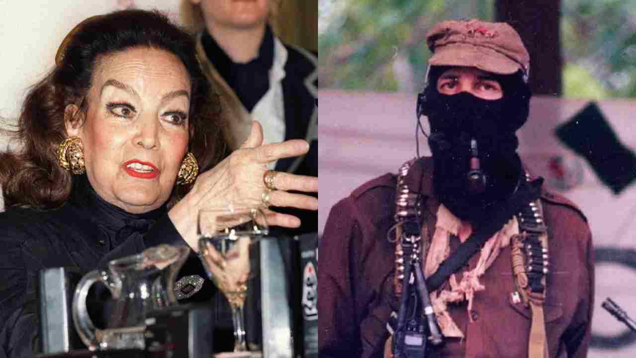 María Félix arremetió contra el subcomandante Marcos: es un naco arrogante