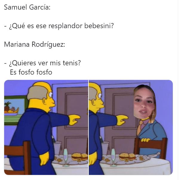 Mejores memes de Mariana Rodriguez ignorando a Samuel Garcia con el fosfo fosfo