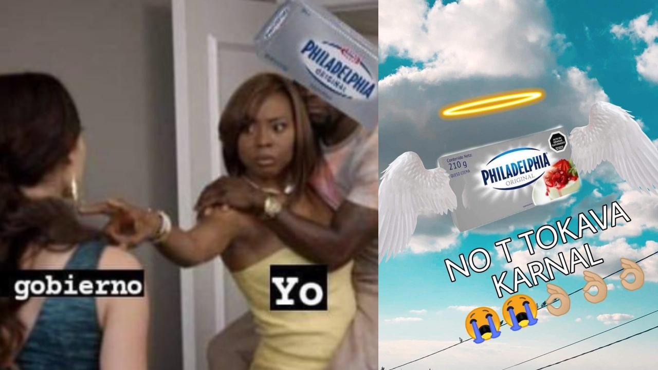 Memes tras la prohibicion del queso en Mexico