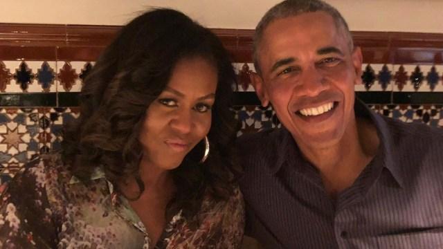 Michelle y Barack Obama aniversario