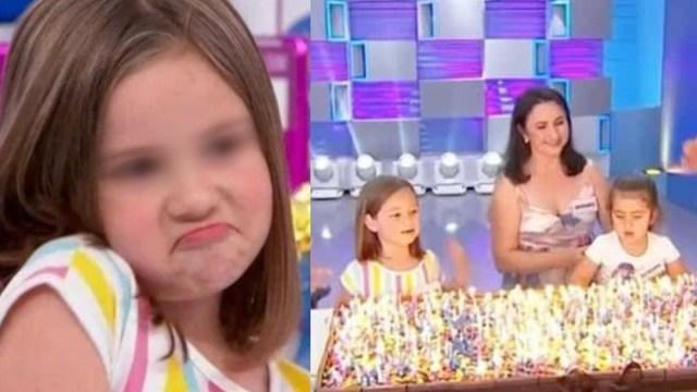 niñas del pastel en programa