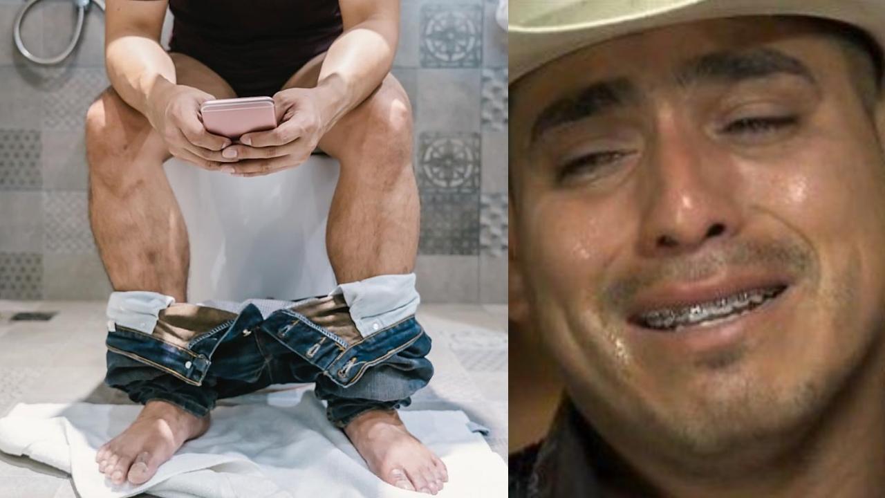 Pasar mucho tiempo sentado en el baño puede provocar que se te salga el recto