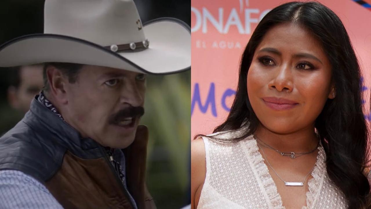 Sergio Goyri y Yalitza Aparicio