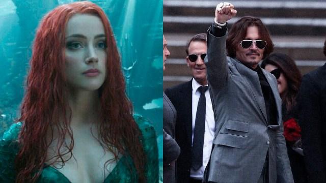 Johnny Depp festejado ataques a Amber Heard en Aquaman