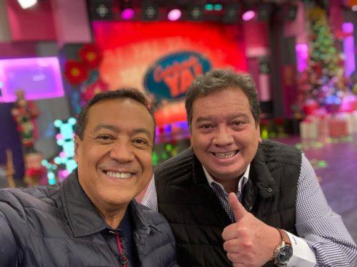 Carlos Cuevas con el Coque Muñiz