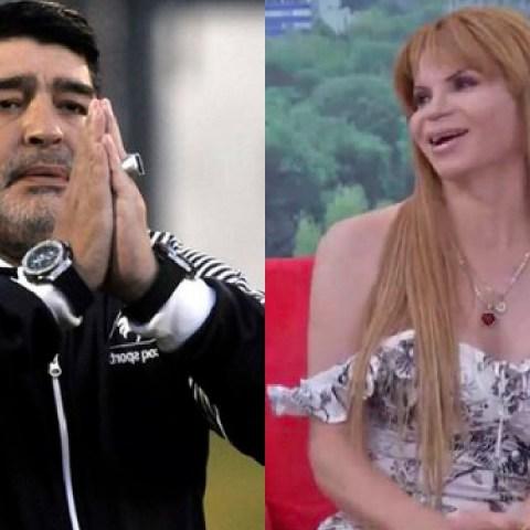 Diego Maradona y Mhoni Vidente