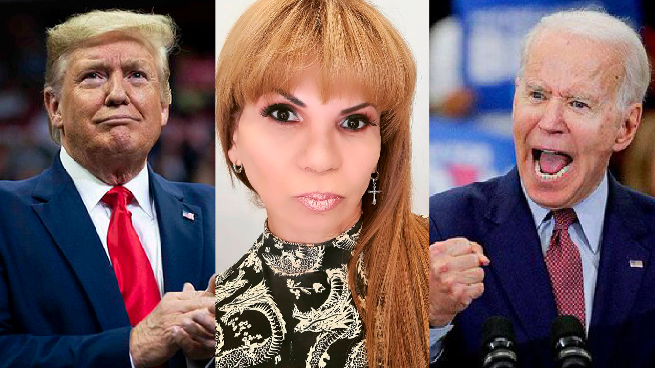 Mhoni Vidente ventila muerte entre Donald Trump y Joe Biden