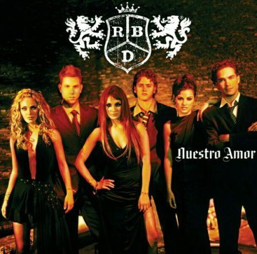 RBD en sus inicios como banda