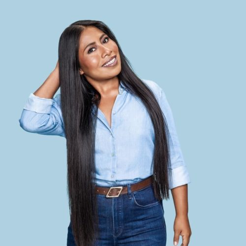 Yalitza Aparicio presume su cabello largo en instagram
