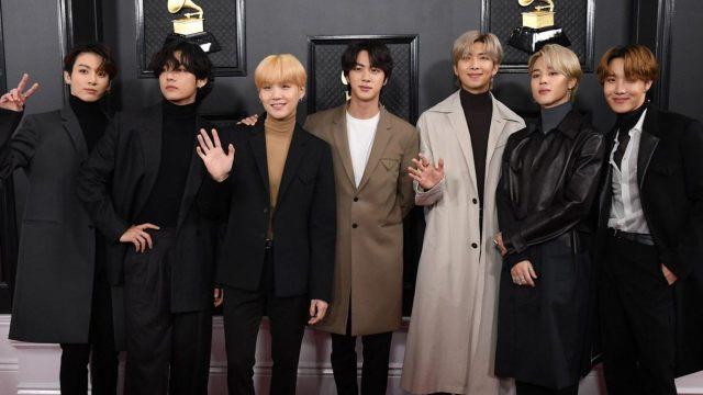 BTS consigue su nominación a los Grammys 2021