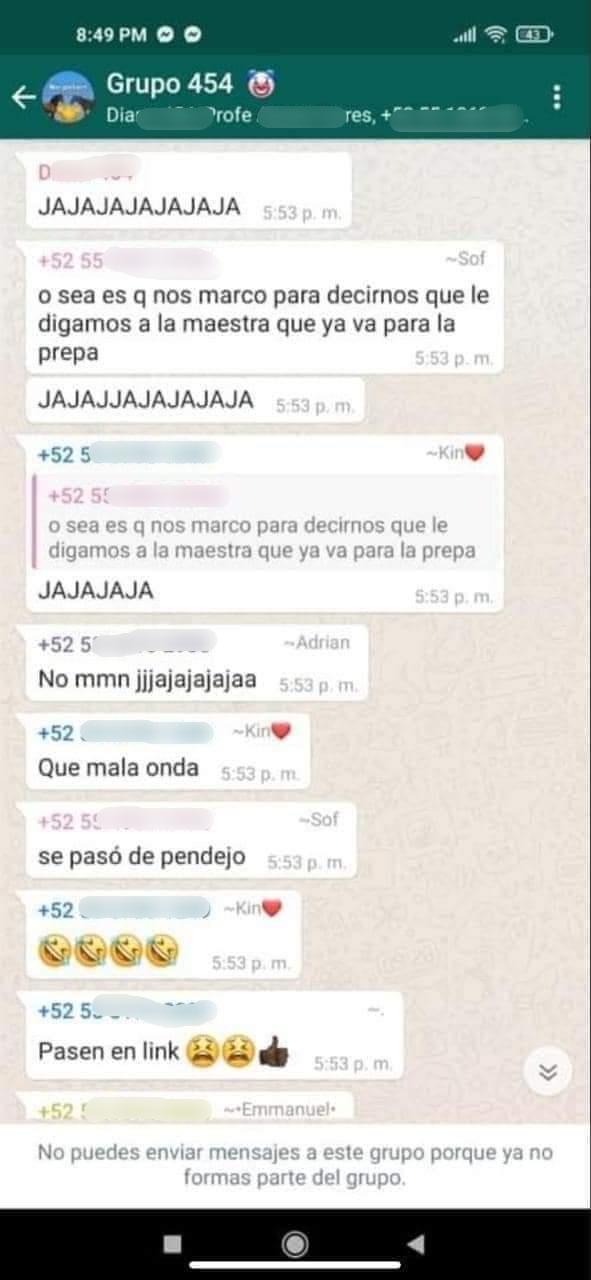 Jorge, Estudiante desapareció tras broma de compañeros