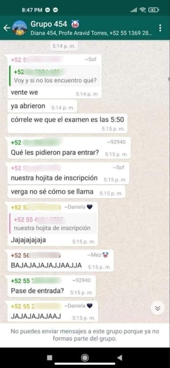 Estudiante de Prepa 5 desapareció tras broma de compañeros
