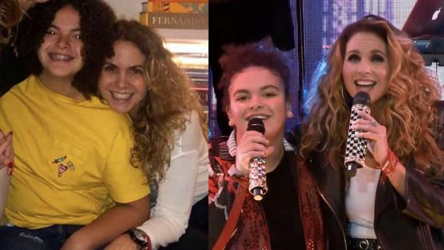 Lucero revela la reacción de su hija luego de cantar con ella en vivo