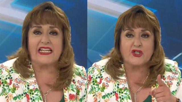 María Julia Lafuente, conductora regia explota en vivo porque no habrá posadas