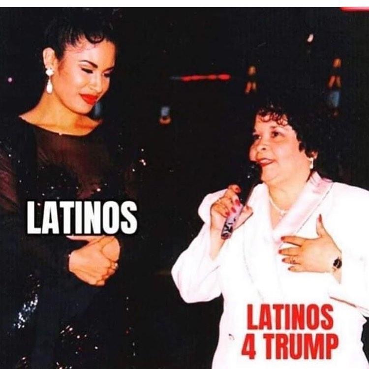 Memes elecciones 2020 latinos