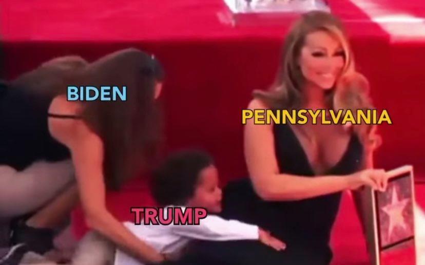 Memes elecciones 2020 pennsylvania