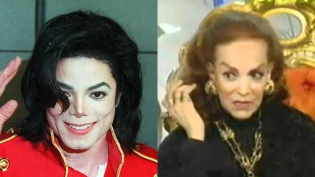 Así fue la vez que Michael Jackson puso a cantar a María Félix