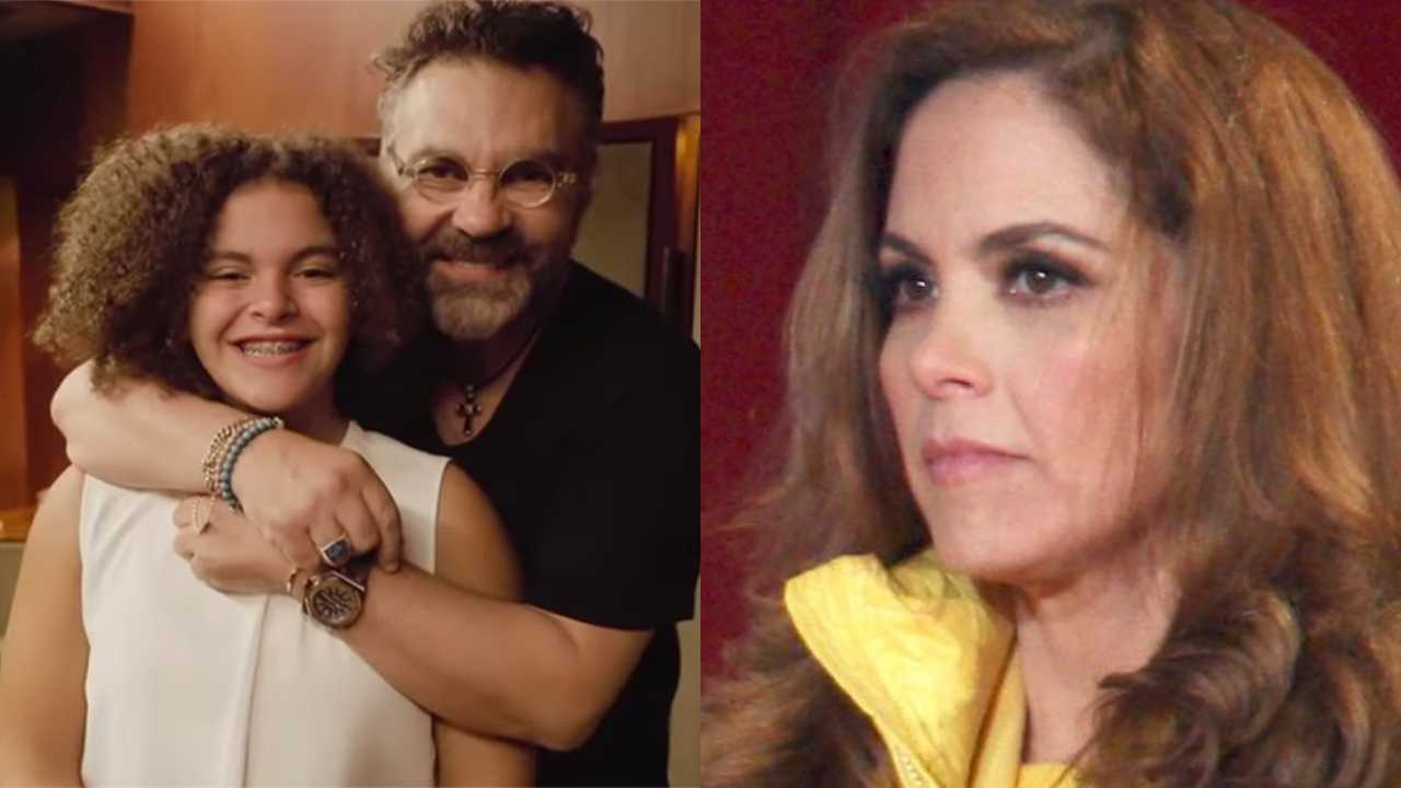 Mijares revela apodo de su hija Lucerito que la hace enojar