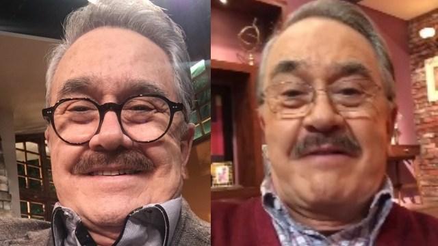 Pedro Sola sonriendo