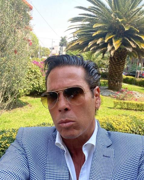 Roberto Palazuelos revela que es el heredero universal de Andrés Garcia