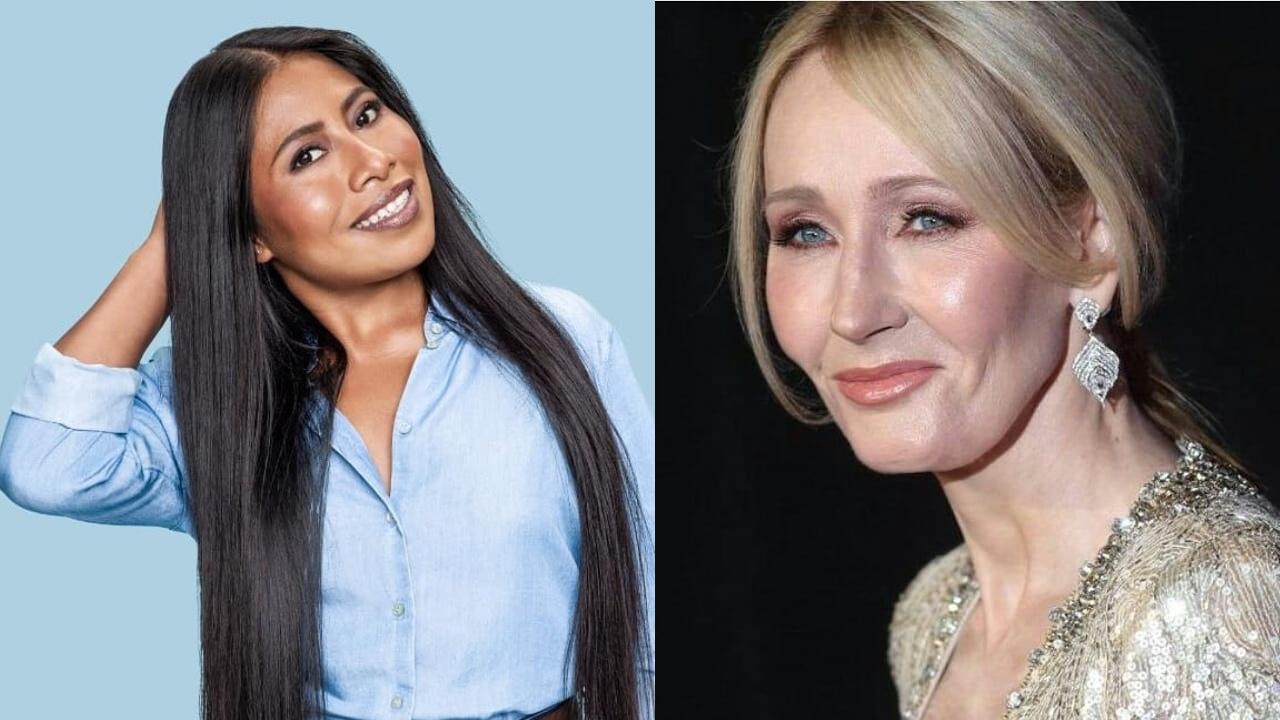 Yalitza Aparicio y J.K Rowling