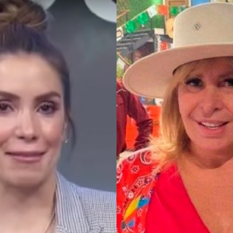 Andrea Escalona rompe en llanto al recordar a Magda Rodríguez