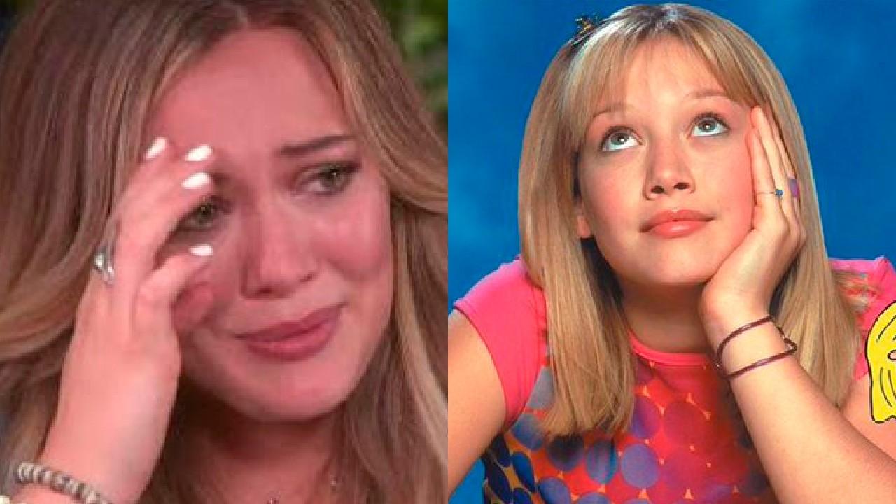 Hilary Duff llorando cancelación reboot Lizzie McGuire