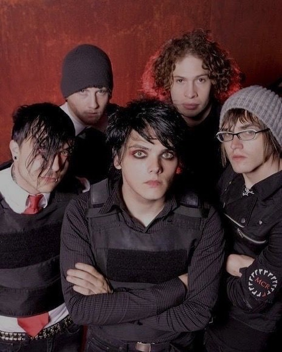 Foto integrantes my chemical romance