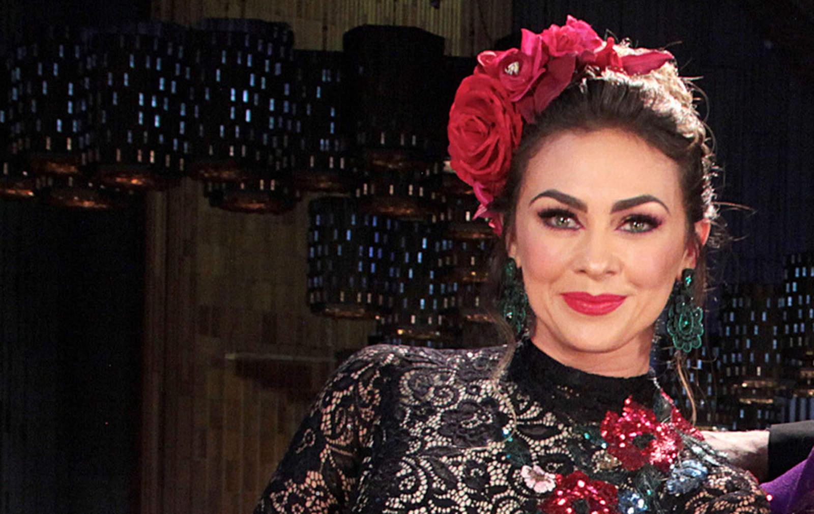 Aracely Arámbula le pide a la Virgen de Guadalupe por la salud de todos los mexicanos
