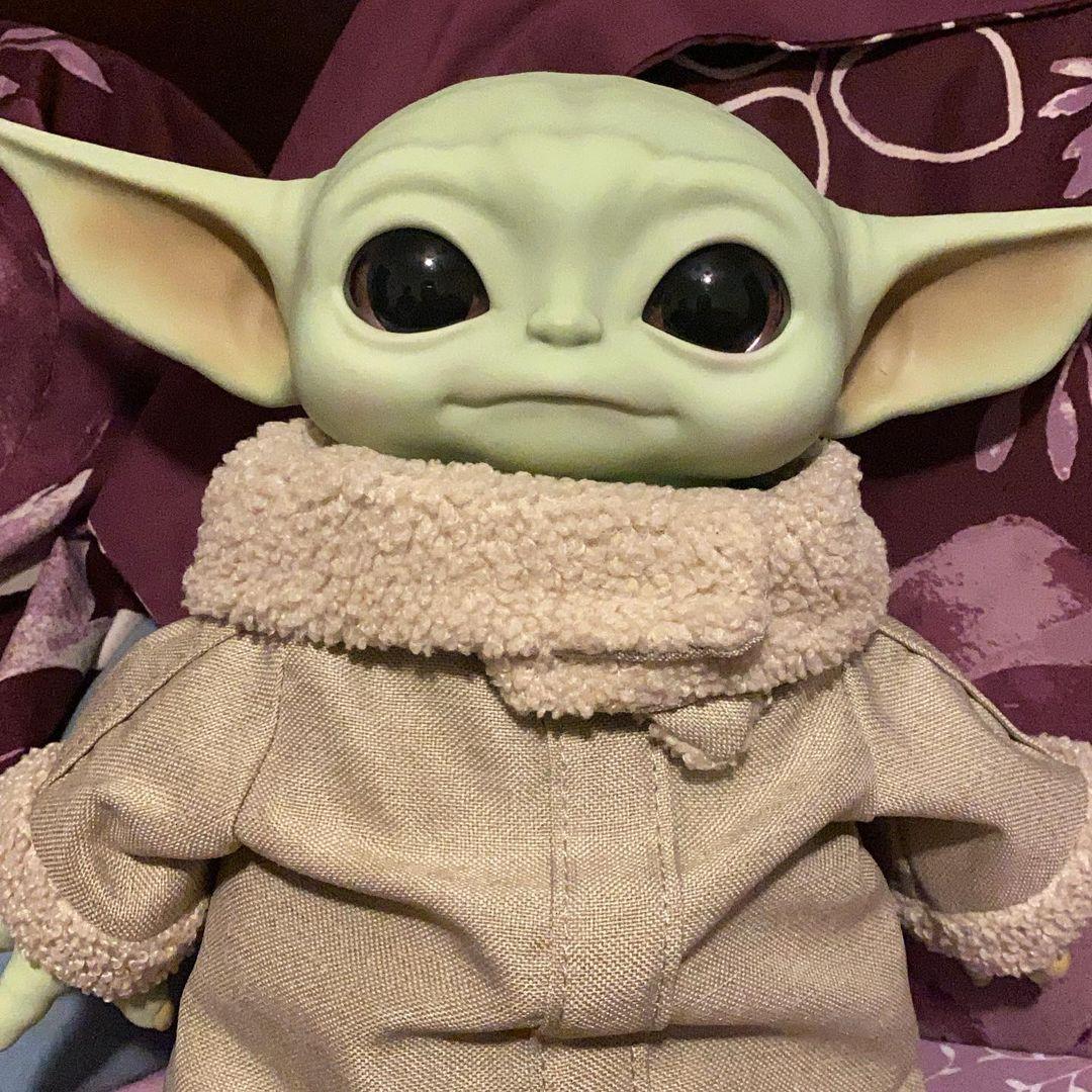 Baby Yoda de The Mandalorian
