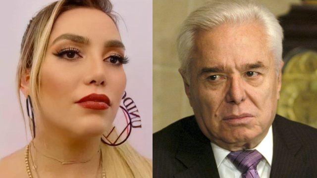 """Frida Sofía arremete contra Enrique Guzmán tras criticarla por """"no saber cantar"""""""