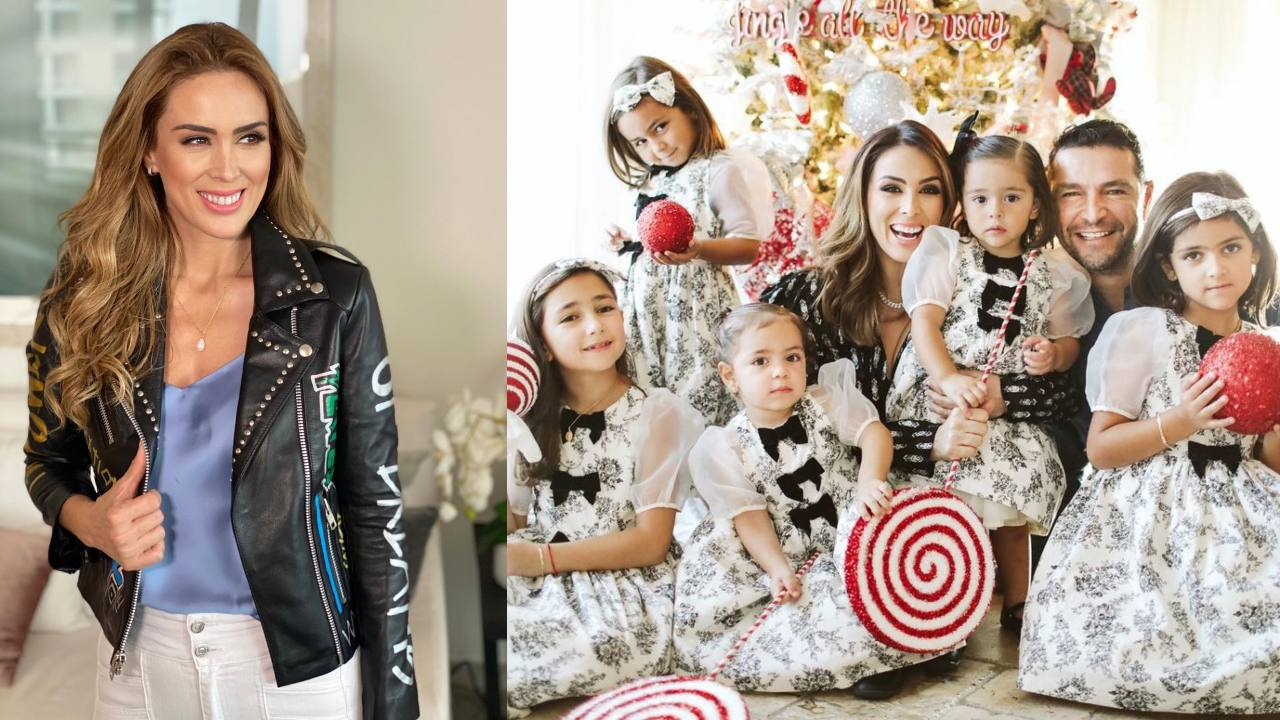 Jacky Bracamontes feliz con su familia