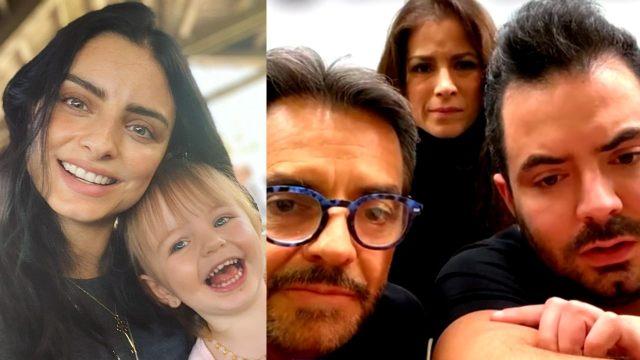 Kailani se hizo pipí y Aislinn Derbez la defiende tras burlas familiares