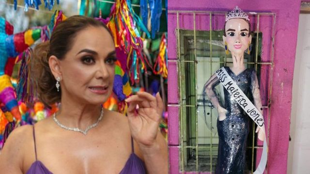 Piñata de Lupita Jones