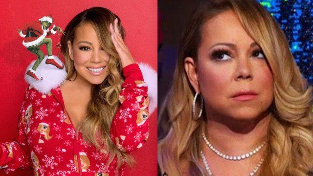 Mariah Carey enojada