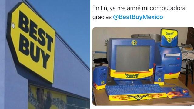 Memes de la liquidación de Best Buy en México