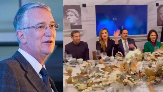 Ricardo Salinas Pliego hace fiesta de TV Azteca