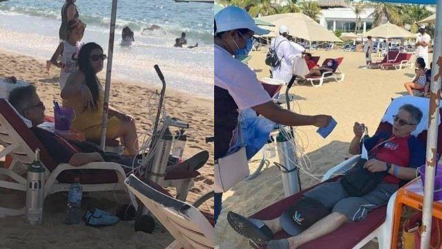 Turistas se lanzan a Acapulco con todo y tanques de oxígeno