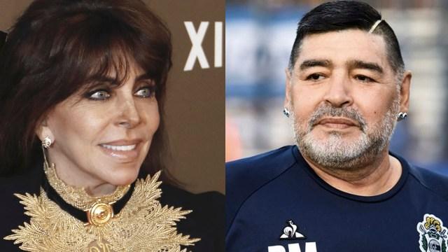 Verónica Castro revela que le gustaba Maradona