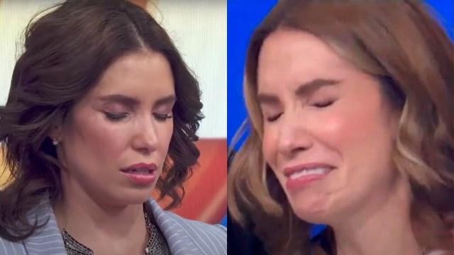 Andrea Escalona llora hipnotizada en Hoy
