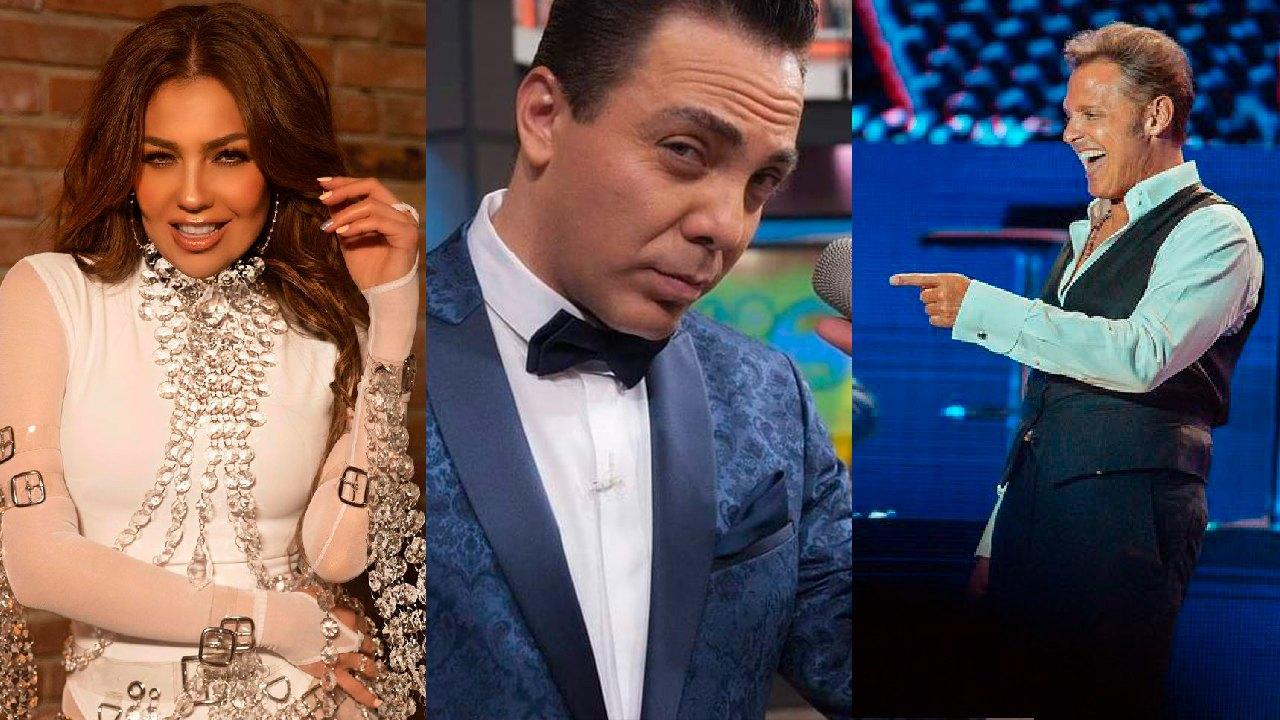 Cristian Castro romance Thalía pelea Luis Miguel