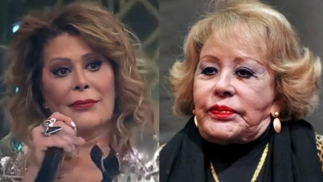 Alejandra Guzmán es criticada por su cara y la comparan con Silvia Pinal