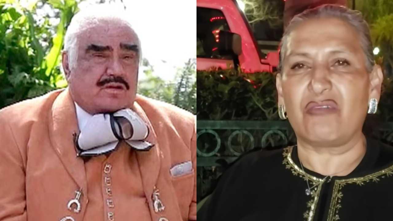 Aparece supuesta hija de Vicente Fernández y arremete contra él
