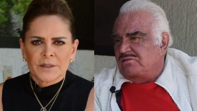 Arremeten contra Mara Patricia Castañeda por defender a Vicente Fernández